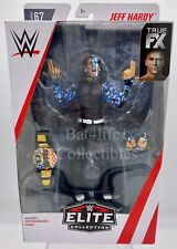 WWE Mattel Elite 67 Jeff Hardy Figure Flashback Hardy Boys Boyz New!! Free S/H!