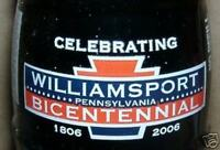 Williamsport PA Bicentennial Coca-Cola Coke Bottle