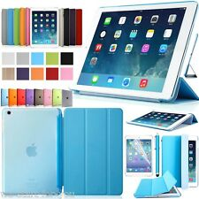"* apple new iPad (2017) 9.7"" funda protectora + lámina bolso Smart Cover Case 10 colores"