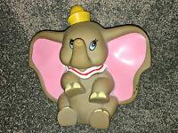 Walt Disney Prod DUMBO CIRCUS ELEPHANT 1960's Vinyl SQUEAK TOY Squeaker VINTAGE