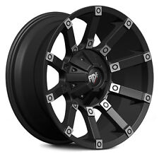 "4-NEW RDR RD09 Digger 17x9 6x139.7/6x5.5"" +12mm Black/Machined Wheels Rims"