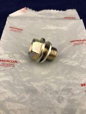 New OEM Honda Engine Oil Drain Plug & Gasket 90009-R70-A00 90009-PY3-000