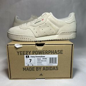 adidas Yeezy Powerphase Clear Brown Men's Size 7 FV6126