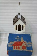Toy Plasticville Church Style CC-7 Box Bell Complete 1949 Bachmann