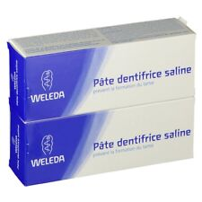 Pate Dentifrice Saline Prévient la Formation du Tartre WELEDA 75ml (lot 2) /EBUG