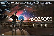 DUNE__Original 1984 Trade print AD promo / poster__boxoffice anncmt__DAVID LYNCH