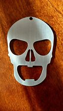 Smiley Skull  bottle opener - keychain.
