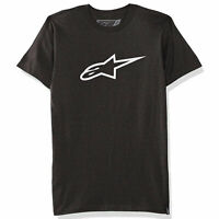 Alpinestars Men's Ageless Classic Short Sleeve T Shirt Charcoal Heather/White...