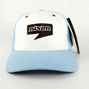 Flexfit Nixon Hello Cap Size L/XL Light Blue White