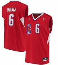 DeAndre Jordan LA Clippers adidas NBA  Replica Jersey - RED 💯% GENUINE