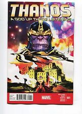 THANOS A GOD UP THERE IS LISTENING #1 - MARVEL NOW - 2014