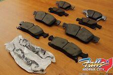 2014-2016 Dodge Ram 1500 Front & Rear Brake Pad Set Mopar OEM