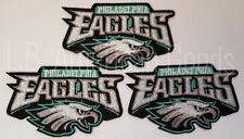 3 x Philadelphia Eagles Patch Aufnäher 10 x 6,5 cm NFL