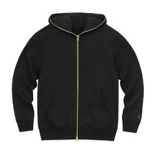 NEW October's Very Own OVO Marigold Full Zip Hoodie Black MEDIUM Drake Hoody NWT