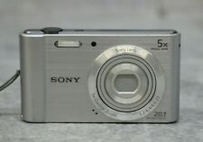 Sony Cyber-shot DSC-W800 20.1MP Digital Camera - Silver