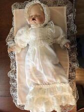 """Vintage SFC Porcelain Christening Baby 22"""""""