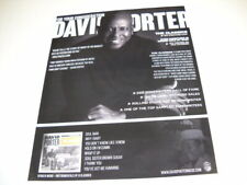 David Porter Soul Classics For Your Consideration 2019 Promo Poster Ad mint