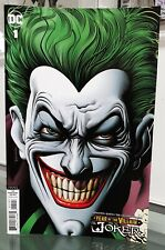 DC COMICS JOKER YEAR OF THE VILLAIN #1 BRIAN BOLLAND VARIANT COVER