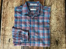 LEVIS COLORGRAPHS LS SHIRT PLAID MENS SIZE MEDIUM GUC