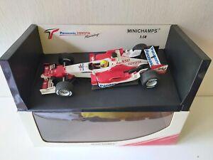 Minichamps 1/18 Toyota TF105 R. Schumacher - Dealer Edition 2005 - AM58298L