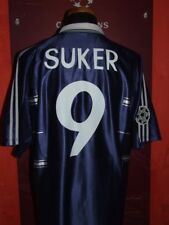 SUKER REAL MADRID 1998/1999 MAGLIA SHIRT CALCIO FOOTBALL MAILLOT JERSEY