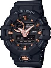 BRAND NEW CASIO G-SHOCK GA710B-1A4 BLACK/ROSE GOLD TONE ANA-DIGI MENS WATCH NWT!