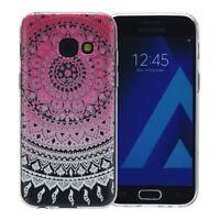 Henné Couverture Pour Samsung Galaxy Xcover 4 Coque Etui Silicone Sonne Rose Neu