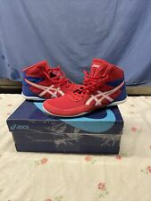 Asics Matflex 6 Mens Wrestling Shoes 1081A021 Classic Red/White Size 8 M New