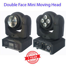4*10W RGBW LED+1*10W RGBW LED 2 Face Mini Moving Head Beam Wash Stage Light