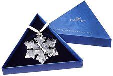 SWAROVSKI Crystal Snowflake Star 2016 Annual Christmas Large Ornament 5180210