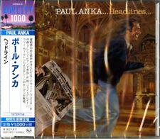 PAUL ANKA-HEADLINES-JAPAN CD Ltd/Ed B63