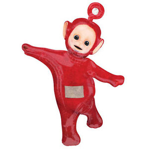 TELETUBBIES Po SUPERSHAPE FOIL MYLAR BALLOON ~ Birthday Party Supplies Red PBS