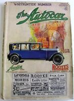 The AUTOCAR 30 May 1930 Original Motoring Car Magazine Whitsuntide Number
