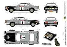[FFSMC Productions] Decals 1/24 Mercedes 500 SLC Bandama (Cote d'Ivoire) 1980