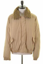 TIMBERLAND Womens Harrington Jacket Size 18 XL Beige Cotton