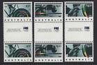 Australia 1992 Barcelona Olympics Gutter Pair Stamp Set