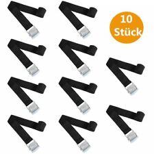 10 Stück Befestigungsriemen mit Klemmschloss für Fahrradträger Spanngurt