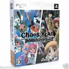 Used PS3 CHAOS; HEAD Double Pack SONY PLAYSTATION 3 JAPAN JAPANESE IMPORT