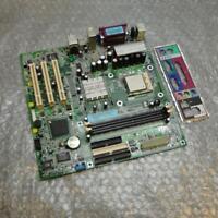 Dell F5949 0F5949 Dimension 2400 Socket 478 Motherboard w/ Intel CPU & IO Plate