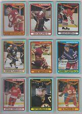 1990-91 O-Pee-Chee Box Bottom Card MINT! Set - Wayne Gretzky + 15