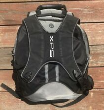 XPS Dell Black Gray 23L 15W Laptop Gaming Chest Clip Bookbag Backpack