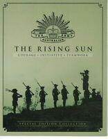AD186) Australia 2012 The Rising Sun Australian Army M/S Stamp Pack MUH