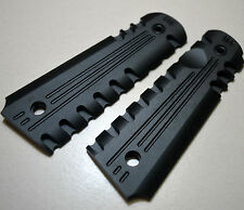 AEROSPACE ALLOYS Black GRIPS for COLT KIMBER FULL SIZE GOVERNMENT 1911 w/O-Ring