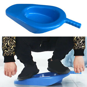 Bedpan Bed Pan with Handle for Patient Women Men Elderly Anti-Spill Home