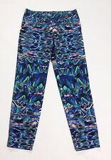 Pantalone donna blu colorati W26 tg 40 S panta slim usati vita bassa hot T2238