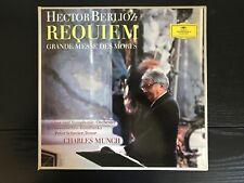 BERLIOZ Requiem * Charles MUNCH * Peter SCHREIER * DGG 104969/70 Stereo
