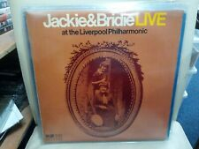 "Jackie & Bridie Live at the Liverpool philharmonic Vinyl LP  12"" record folk"
