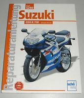 Reparaturanleitung Suzuki GSX-R 750 – ab Baujahr 2000/2001