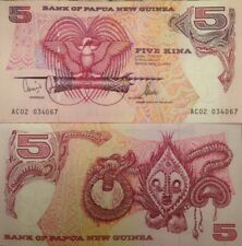 PAPUA NEW GUINEA 2002 5 KINA P-13 UNCIRCULATED BANKNOTE BUY FROM A USA SELLER !