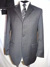 YVES SAINT LAURENT (YSL) ELEGANT DESIGNER GREY BUSINESS/WORK SUIT UK 38 EU 48